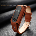 Replacement Mi Bands 2 Genuine Leather Strap Smart Band Bracelet Replace Strap For Xiaomi Mi Band 2 Wristband