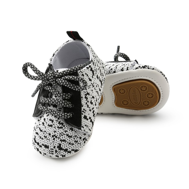 Fashion Baby Shoes WEIXINBUY Canvas Lace-up Casual Shoes Sneakers Crib Bebe First Walkers Baby Moccasins