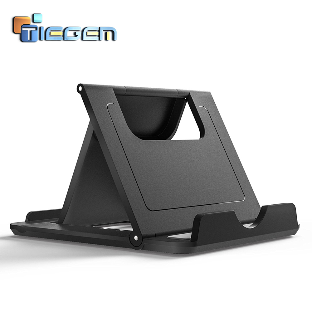 TIEGEM Desk Phone Holder For IPhone Universal Stands Foldable Phone Holder For Samsung Galaxy S8 Tablet Your Mobile Phone Holder
