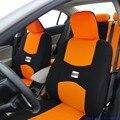 2 asientos delanteros cubierta de asiento de coche Universal para SEAT Cordoba Ibiza LEON Toledo Marbella Terra RONDA accesorios del coche etiqueta engomada del coche