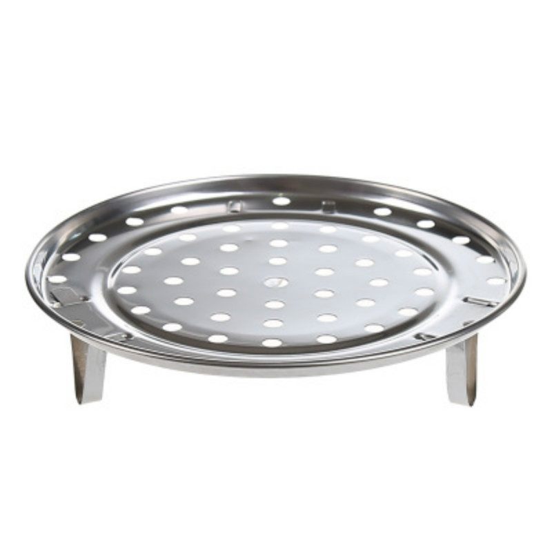 Stainless Steel Steamer Plate Collapsible Steaming Fish Poacher Cooker Food Vegetable Basket Cooking Kitchen Draining Rack