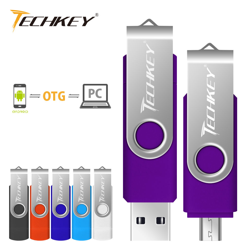 OTG pen drive 4GB 8GB 16GB 32GB Metal USB Flash Drive Phone Rotatable OTG pendrive external storage Micro usb memory stick suntrsi smart phone usb flash drive metal pen drive 64gb pendrive 8gb otg external storage micro usb memory stick flash drive