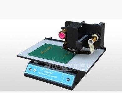 все цены на 2018 new hot foil stamping machine,digital foil printer,plateless hot foil printer on note book leather plastic film paper онлайн