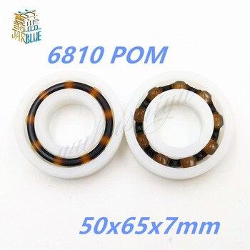 6810 POM (10PCS) Plastic ball bearings 50x65x7mm  Glass Balls 50mm/65mm/7mm 61810POM