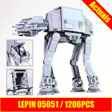Lepin 05051 Star Series Wars Force Awaken The AT Transpotation AT Armored Robot 75054 Building Blocks