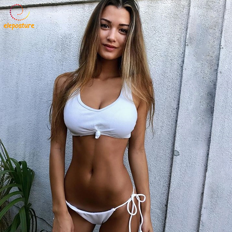 2018 New Sexy Bikini Women Swimwear Push Up Swimsuit Brazilian Bikini Set Thong Bathing Suit Summer Beach Wear Swim Wear Female sexy knotted bow bikini set swimsuit bandage bikini 2017 swimwear women brazilian thong biquini push up swim wear bathing suit
