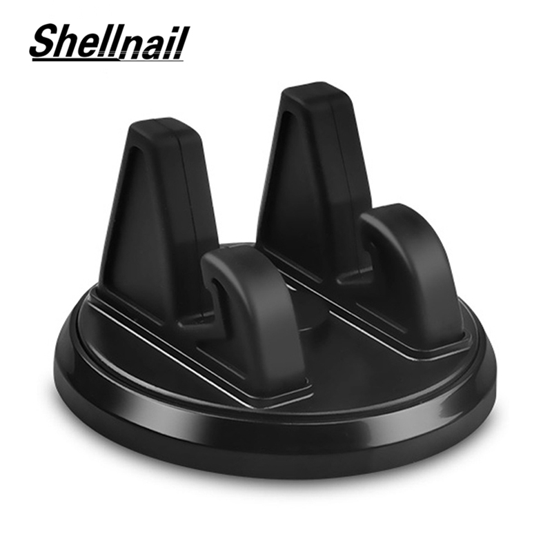 SHELLNAIL Car GPS Dashboard Bracket Soft Silicone Anti Slip Mat Mobile Phone Mount Stands Support 360 Degree Car Phone Holder