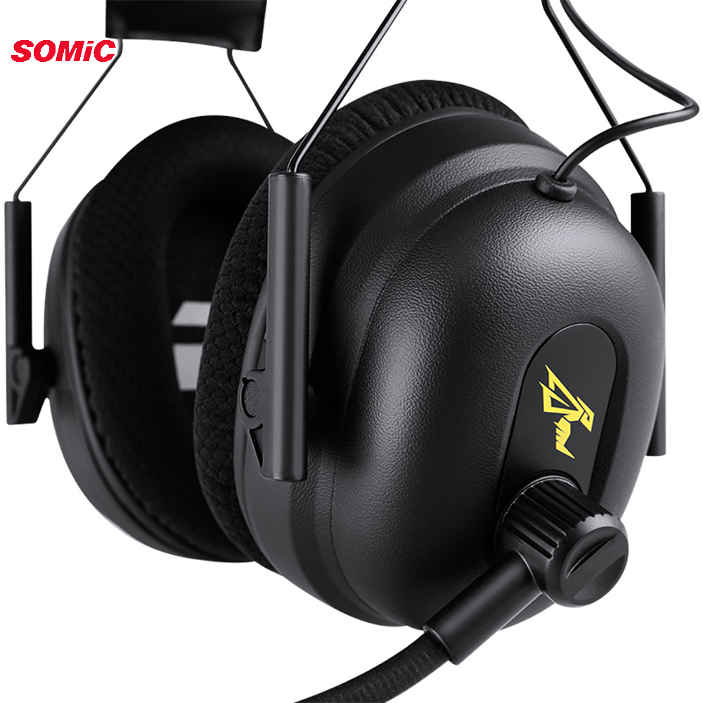 Image 2 - SOMIC G936N PS4 Gaming Headset 7.1 Virtual 3.5mm Wired PC Stereo Earphones Headphones with Microphone for Xbox Laptop-in Headphone/Headset from Consumer Electronics