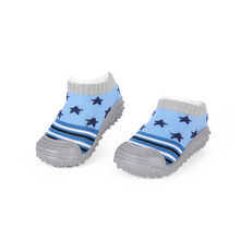 Baby cute first walkers Newborn Autumn Winter Anti Slip Socks with Rubber Soles Toddler boy&girl Floor Shoes Infant Prewalker цены онлайн