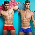Men's Boxer Shorts Underwear New 2016 Pink Hero Fashion Underpants knickers Sexy modal Elastic Pants male panties Gay M/L/XL/XXL