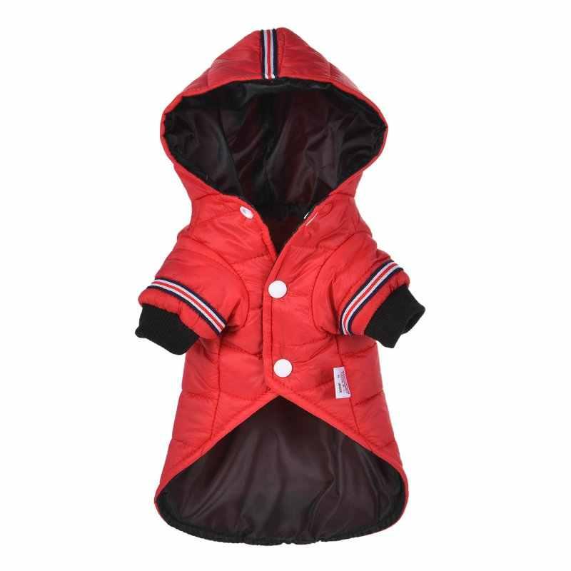 Зимняя одежда для собак, теплый пуховик, водонепроницаемая куртка, толстовки для чихуахуа, маленьких и средних собак, щенков, лучшая продажа, XS-XXLN