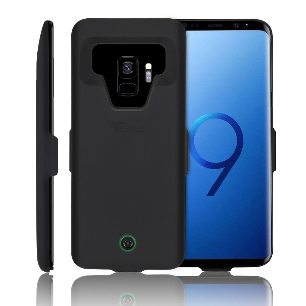huge selection of e3f44 69295 US $22.55 6% OFF|For Samsung S9 S8 A8 Battery Charger Case , Portable  Charging for Galaxy S9 Plus + Ultra Slim Extended Power Bank Battery  Case-in ...