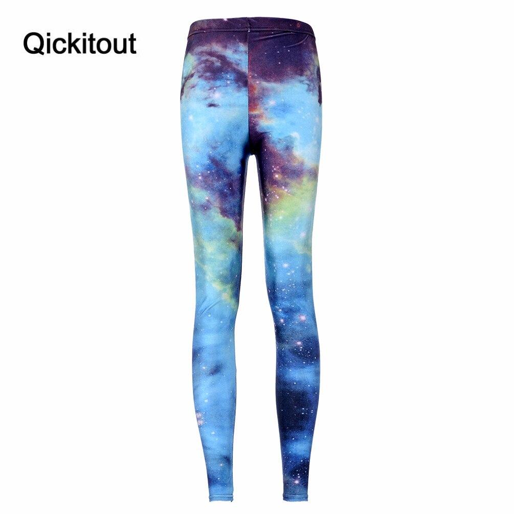 Women Green Leggings Space Print Pants Supernova Sale  Milk Leggings Fitness