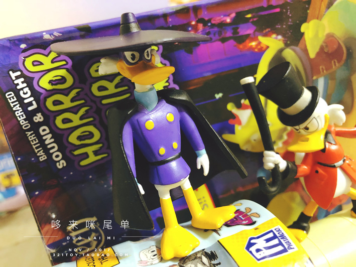 Original Garage Kit Classic Toy Animation Donald Duck Darkwing Duck Mini Doll Action Figure Collectible Model Loose Toy