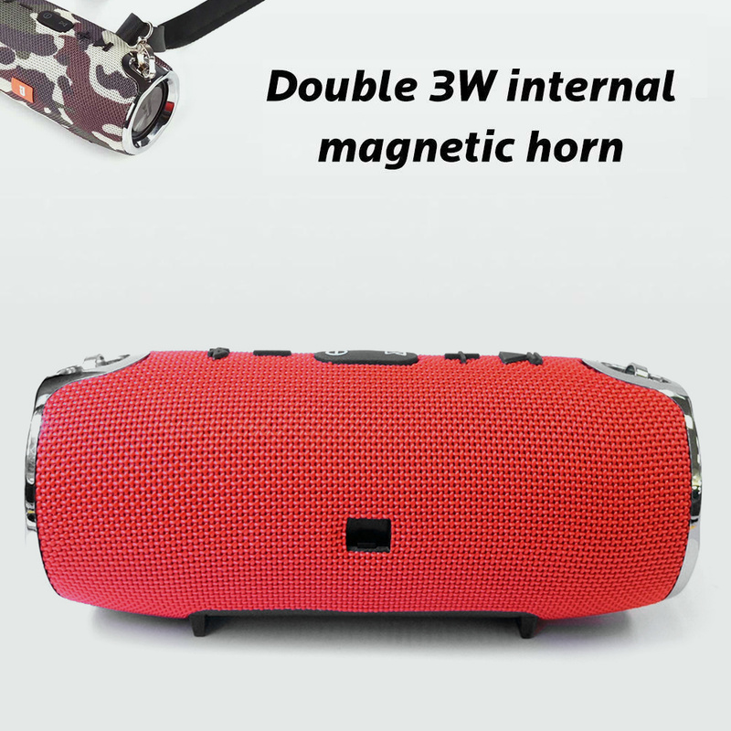 40W Waterproof Outdoor Portable Bluetooth Speaker With HIFI Speaker FM Radio And Mp3