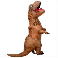 Inflatable Dinosaur Costume Adult Jurassic World Park T Rex Inflatable Costume Party Fancy Dress Halloween Costumes