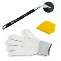 PRO Wrap Application Squeegee Sticker Film Window Car Window Film Tools Gloves Decals Tinting Squeegee Pen