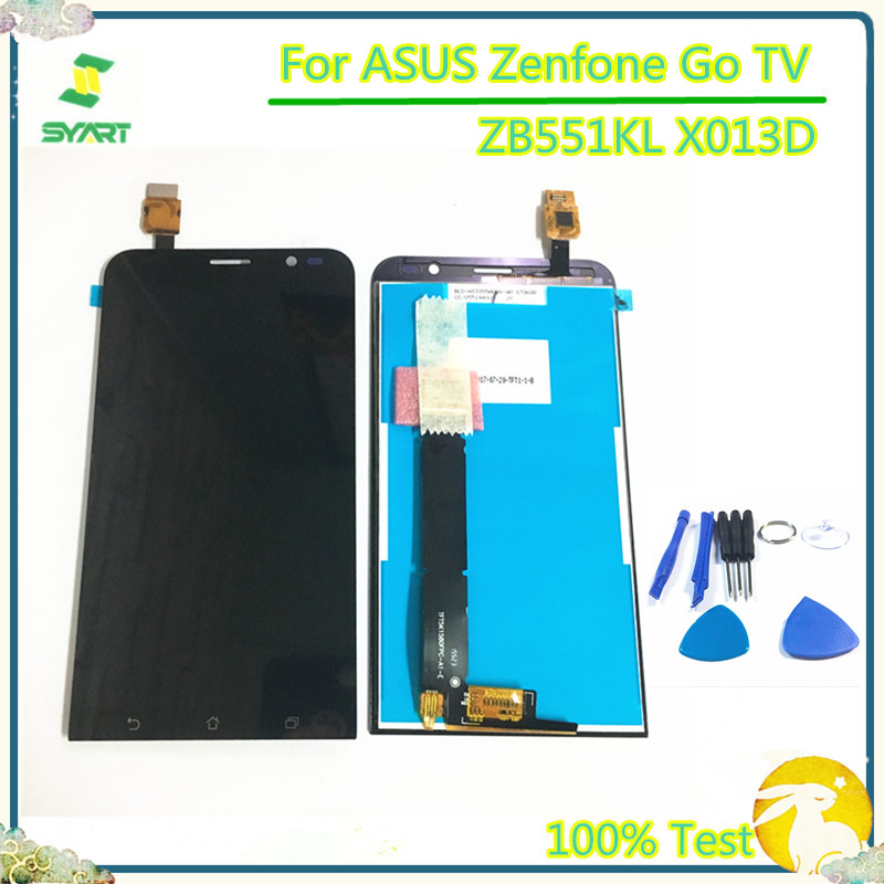 5.5'' LCD <font><b>Display</b></font> For ASUS Zenfone Go TV <font><b>ZB551KL</b></font> X013D LCD <font><b>Display</b></font> Touch Screen Digitizer Assembly For ASUS X013D <font><b>ZB551KL</b></font> X013DB image