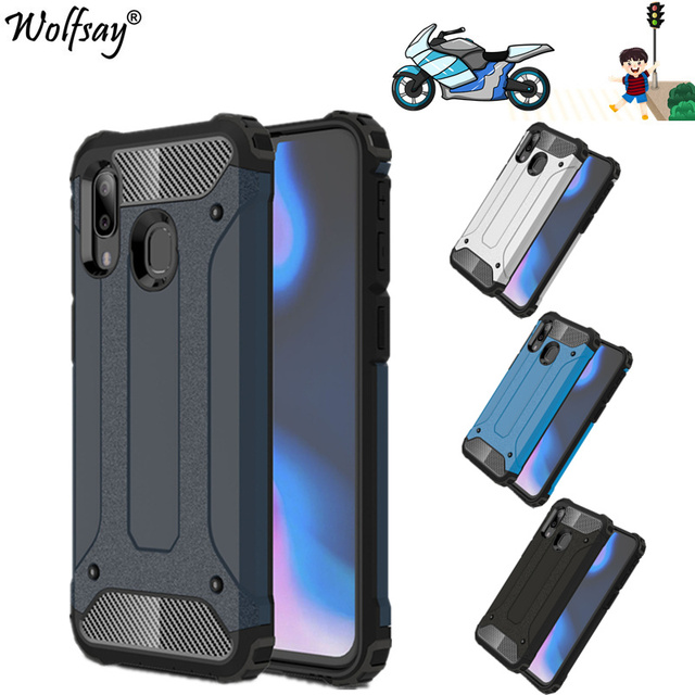 For Case Samsung Galaxy A40 Case TPU+PC Shockproof Hybrid Armor Full Cover For Samsung Galaxy A40 Phone Case For Samsung A40