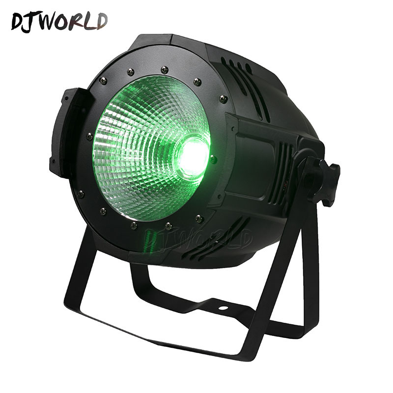 10PCS 100W C0B LED Par RGBWA+UV 6IN1 Lighting DMX512 Lamp Stage Effect For Stage Effect DJ Disco Lighting Party Light
