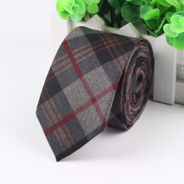 Corbata Estampada de Algodón