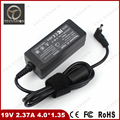 Welcome Bulk Order Laptop Charger 19V 2.37A 45W 4.0*1.35mm AC Power Adapter Supply for Asus ZenBook ux21a ux31a ux32a Ultrabook