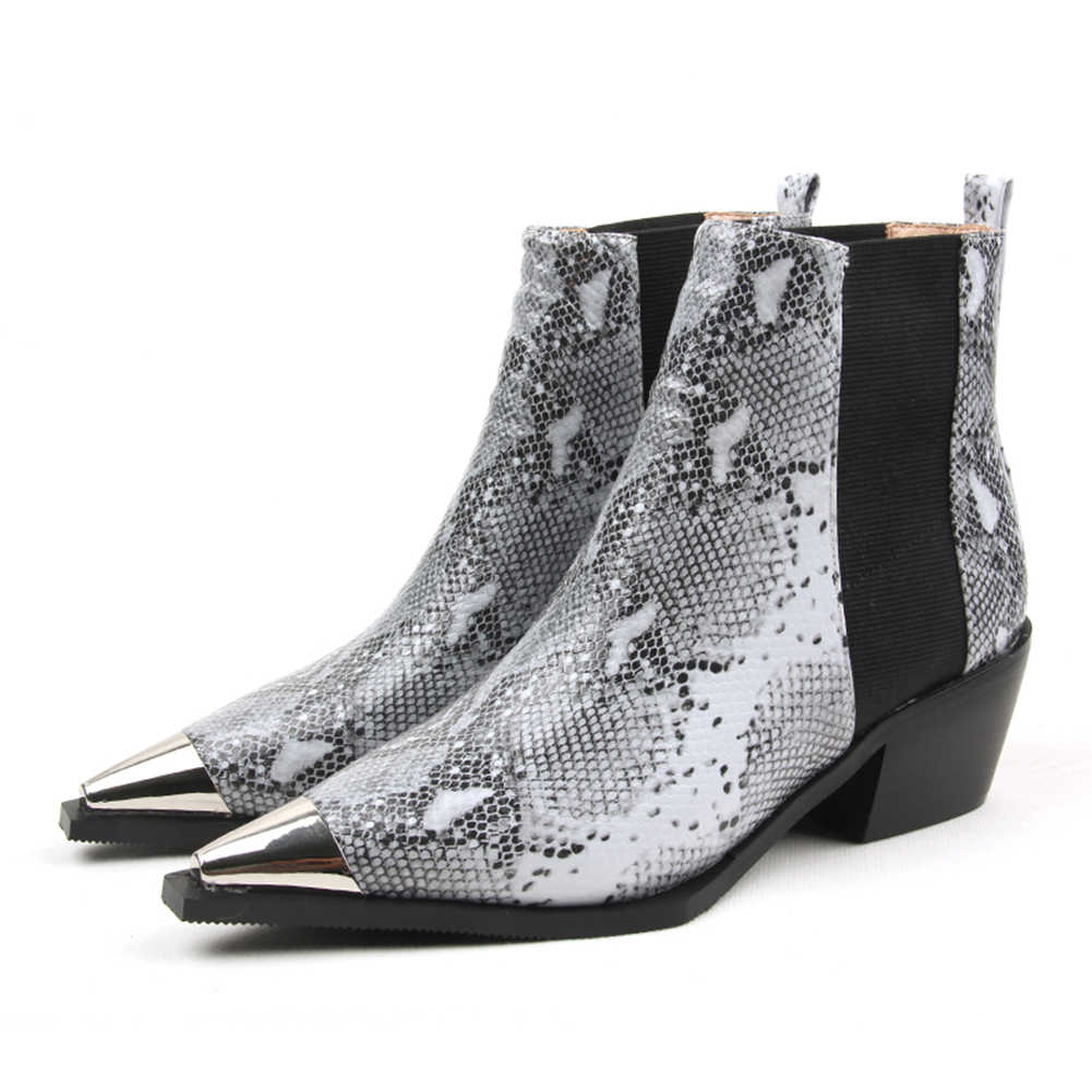 BONJOMARISA/Новое поступление; ботильоны наивысшего качества; женская обувь; Уличная обувь на не сужающемся книзу массивном каблуке с эластичной лентой; женские ботинки