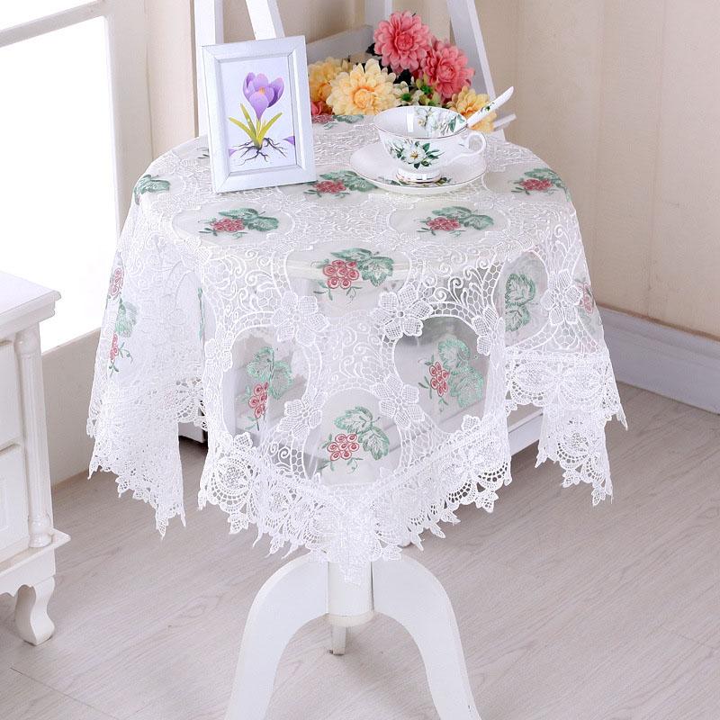Incroyable Enlever La Poussiere Sur Les Meubles #15: Table De Fête Chiffons  Brodé Nappe De Fils Maison Dîner Table Meubles En Tissu Cache