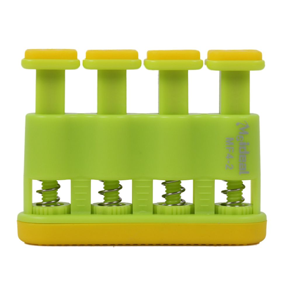 12pcs (1 Green ABS finger force guitar instructor piano finger training device children MF4-2 (2-5 pounds) 11 * 10.5 * 2.5cm mini strength finger exerciser kids child mini finger exerciser guitar bass piano beginner trainer fa 12 guitar accessories
