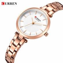 CURREN Luxury Top Brand Women's Quartz Watch Japan Movement Exquisite Fashion Ladies Dress Bracelet Wristwatch relojes mujer #a