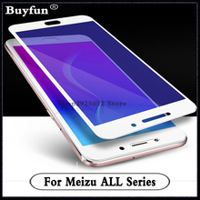 Full cowl Display For Meizu M5 M3 word Mini Mx6 Professional 5 6 Tempered Glass For Meizu Meilan U20 U10 Protector Movie on Pro5 Pro6 E2