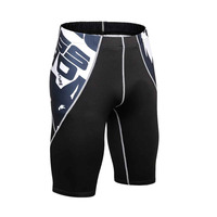 2017 Breathable Männer Compression Shorts MMA Workout Fitness Böden Crossfit Haut Engen Kurzen Hosen