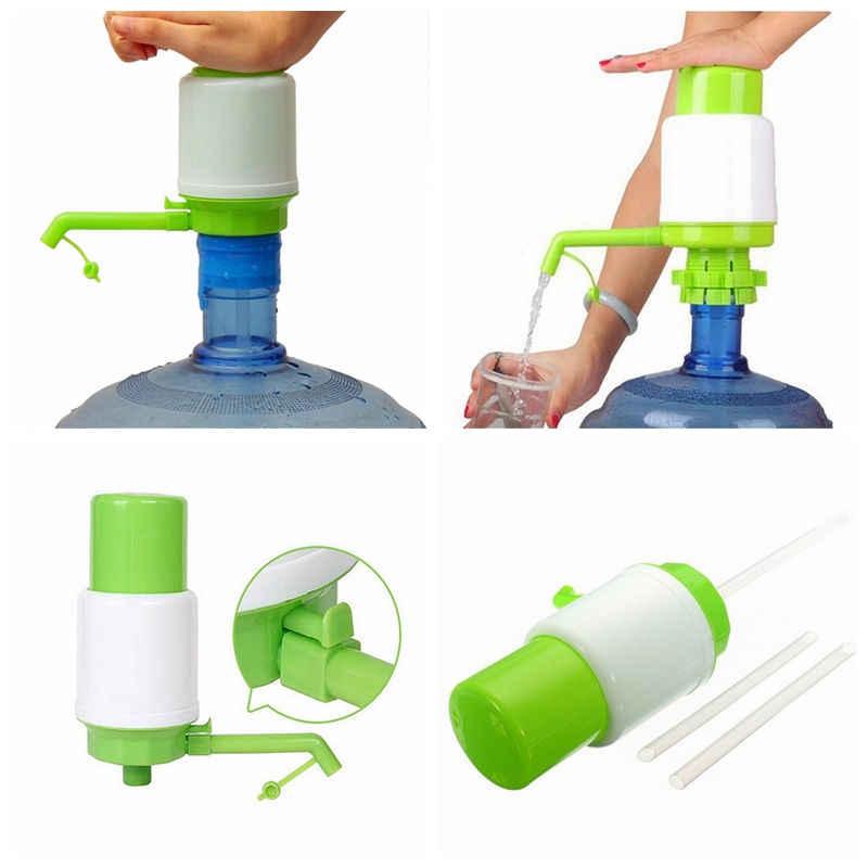 Portátil 5 Litros de Água Potável Engarrafada Mão Imprensa tubo Removível Inovadora ação de vácuo Bomba Manual Dispenser