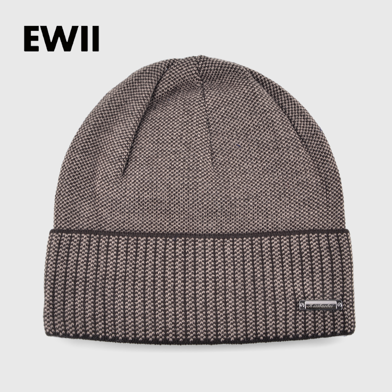Knitted winter hats for men beanies solid color striped cap skullies mem beanie wool hat gorro boy casual bonnet warm caps bone men s skullies winter gorros ski wool warm knitted cap beanie headgear hat nap skullies bonnet beanies cap hats for women gorro