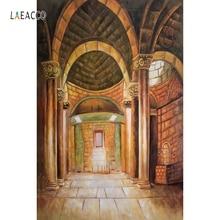 цены на Laeacco Palace Pillars Castle Stairs Interior Scene Photography Backgrounds Customized Photographic Backdrops For Photo Studio в интернет-магазинах