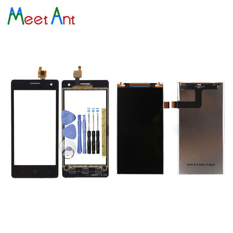 High Quality 4.5'' For ZTE Blade GF3 Lcd Display With Touch Screen Digitizer Sensor