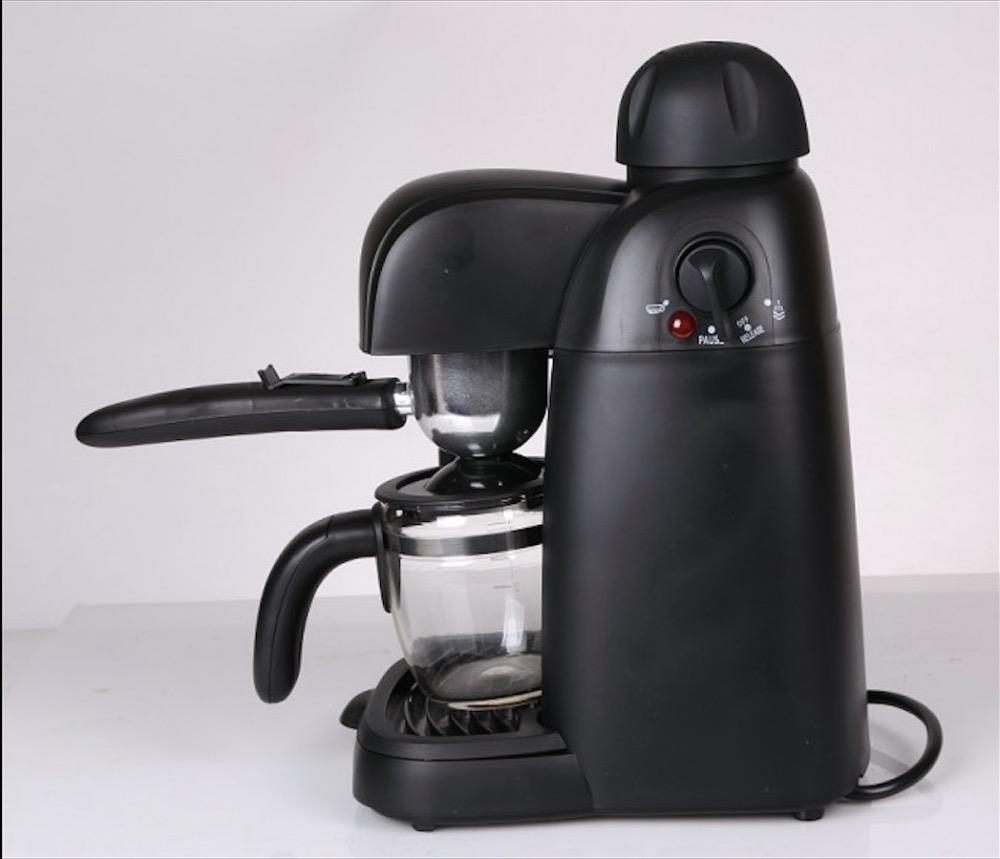 5bar High pressure steam 0.24L coffee machine Italian coffee maker espresso household Cappuccino Milk foam