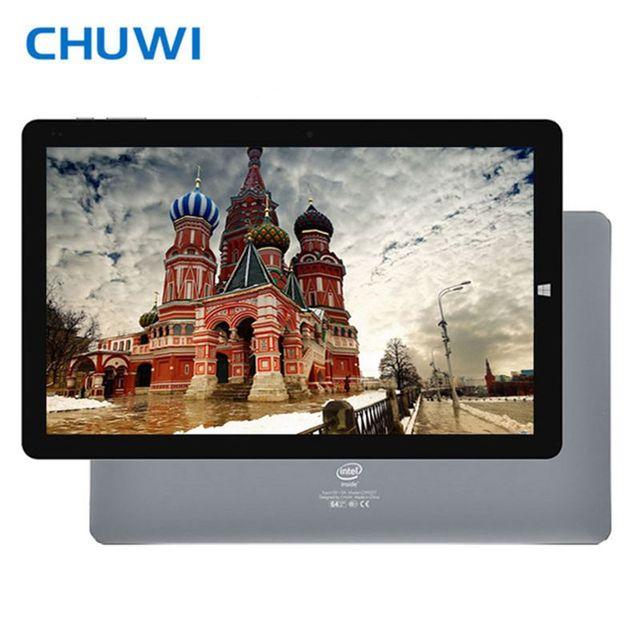 Original  CHUWI Hi10 Pro 10.1 Inch Dual OS Tablet PC Windows&Android Intel ATOM X5 Z8350 4GB RAM 64GB ROM 1920x1200 2.0MP Camera