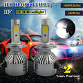 TAITIAN NEW 160W 16000LM H1H4 H7 COB LED Headlight Upgrade Kit Light Bulbs 6000K White