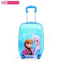 411d8ced3 Los niños maleta niño caso Trolley equipaje chico s carteras de viaje maleta  con ruedas 3D de dibujos animados caso chico es caj.