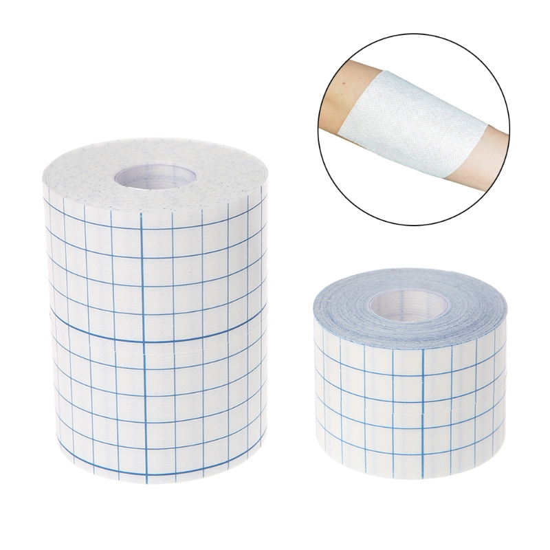 Waterproof Transparent Adhesive Wound Dressing Medical Fixation Tape Bandage adhesive plaster waterproof transparent adhesive fixation tape bandage wound dressing fixer plaster fixomull pu film roll
