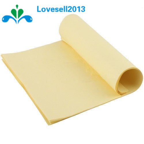 Free Shipping 10PCS A4 Toner Heat Transfer Paper Yellow For DIY PCB Electronic Prototype Mark Top Quality
