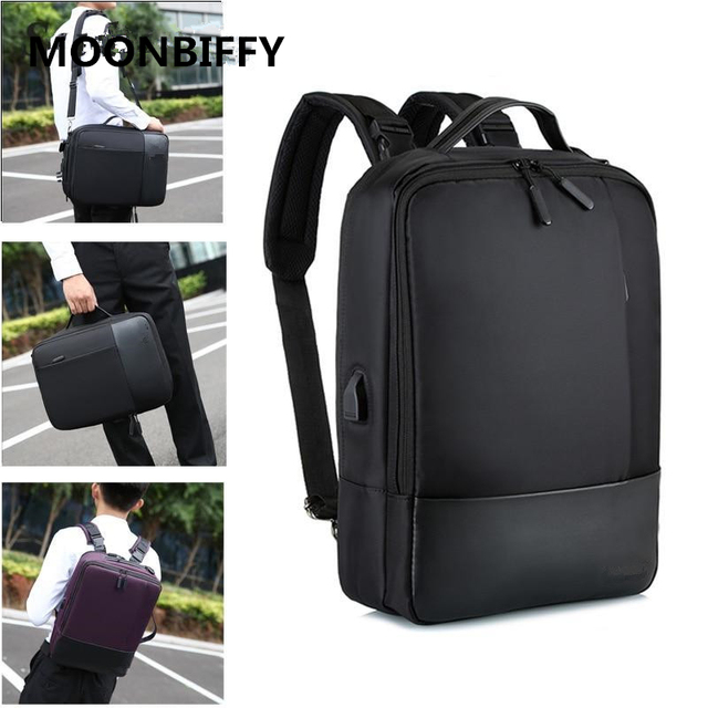 Premium Anti-theft Laptop Backpack with USB Port Multifunction USB charging Men Backpacks For Teenager Fashion Male  1