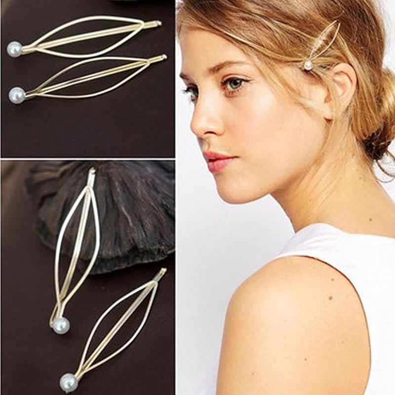 TS646 Wedding Accessories Bridal Pearl Hairpins European Style Hair Pins Clips Bridesmaid Women Hair Jewelry