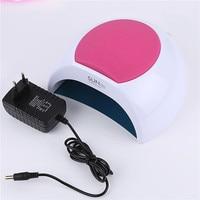 SUN2C 48W LED Nail Dryer Automatic Sensing Smart Timer 33 Led Lamp Nail Polish Curing Gel Lamp for Nail Fingernail Toenail Tools