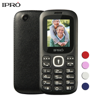 Russian Language Original IPRO I3185 1.8 inch Unlocked Mobile Phones Dual SIM GSM Bluetooth Cell Phone Push-Button Telephone