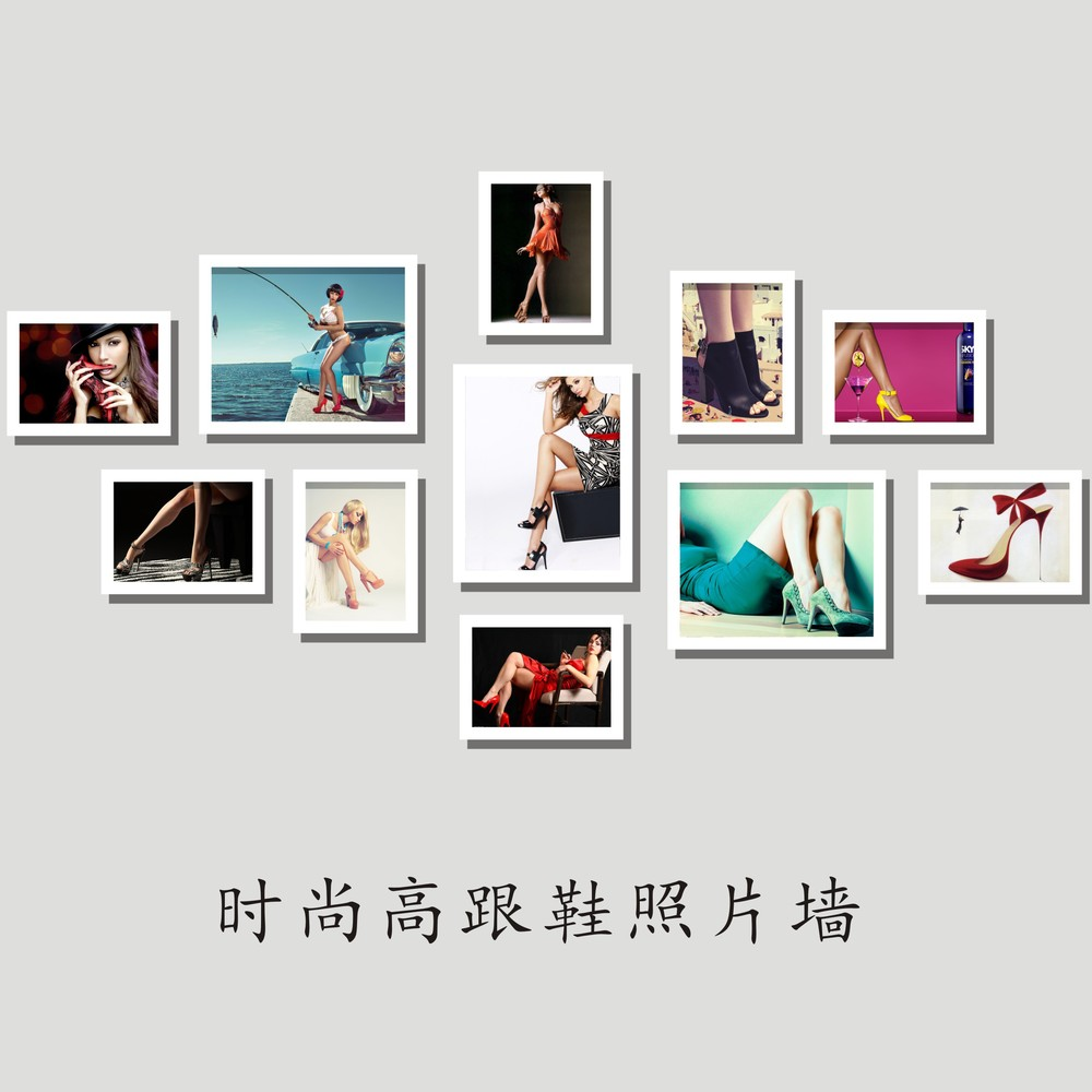 Photo Wall Beauty Shop Fashion