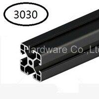 Black Aluminum Profile Aluminum Extrusion Profile 3030 30 30 For Haribo Edition Prusa I3 MK2 3D