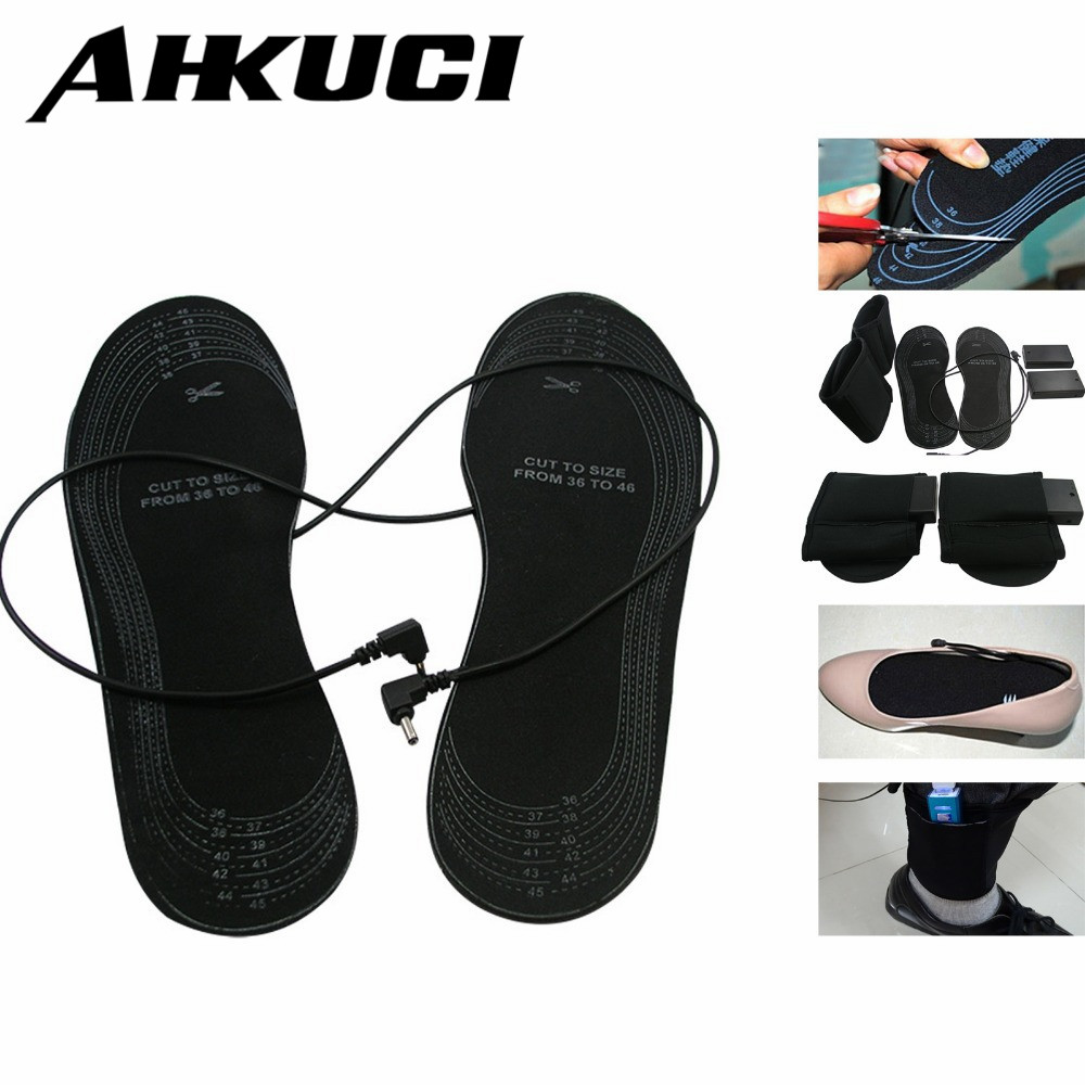 Electronic Heating Insoles For Winter USB Heated Elements Outdoor Shoes Insoles