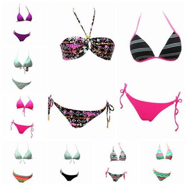 504f44df52b SWIMMART High Quality Variety of Styles Bikini Different Design Multi-color  Classic Swimwear Swimsuit GD001